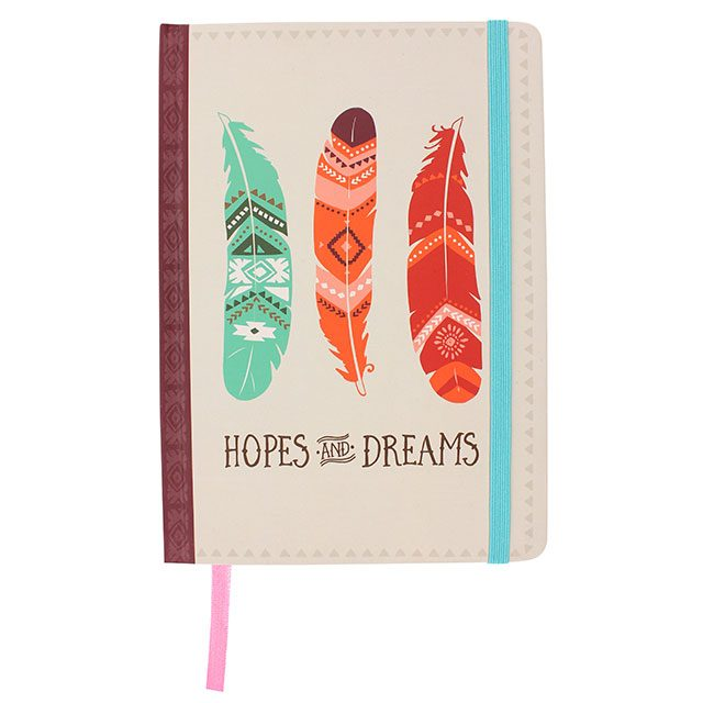 Hopes and Dreams A5 Notebook - Destination Fashion at Destination Fashion