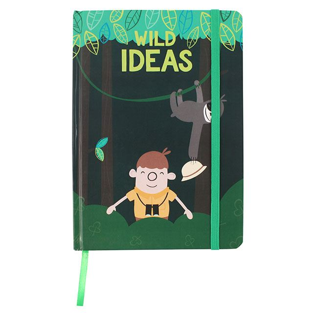 Jungle Adventure Range A5 Notebook - Destination Fashion at Destination Fashion