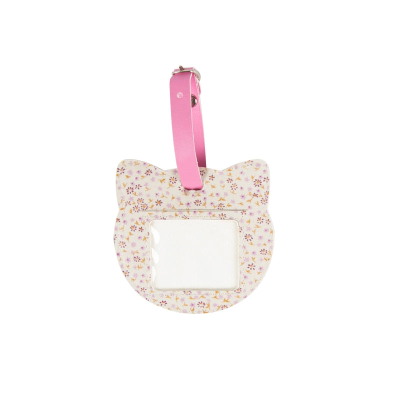 Floral Friends Cat Cream Luggage Tag - Sass and Belle at Destination Fashion