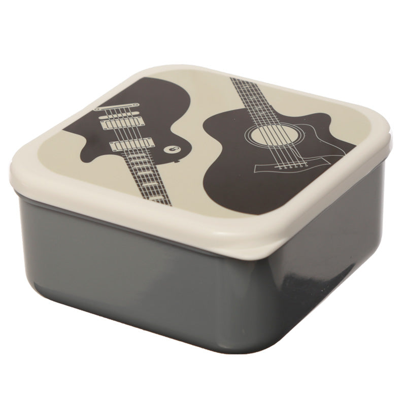Headstock Guitar Set of 3 Plastic Lunch Boxes (M/L/XL) - Puckator at Destination Fashion