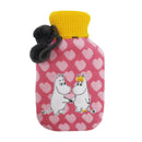 Moomin Heart Hot Water Bottle - House of Disaster at Destination Fashion