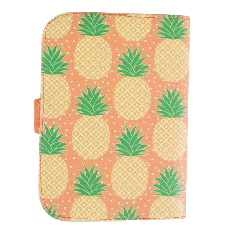 Tropical Pineapple Passport Holder - Sass and Belle at Destination Fashion