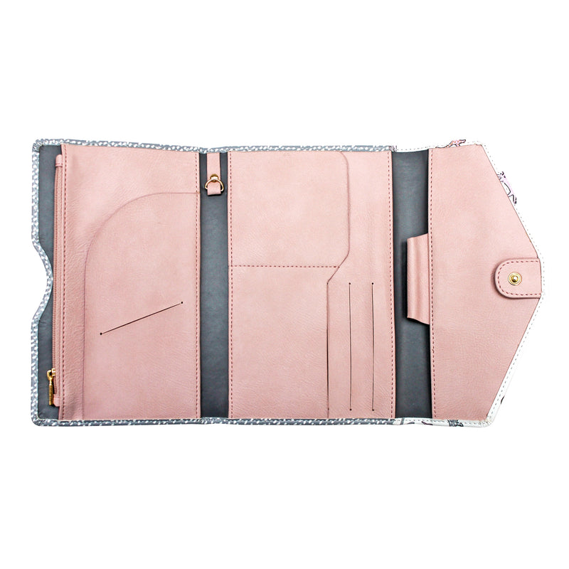 Over The Moon Cat Travel Wallet - House of Disaster at Destination Fashion