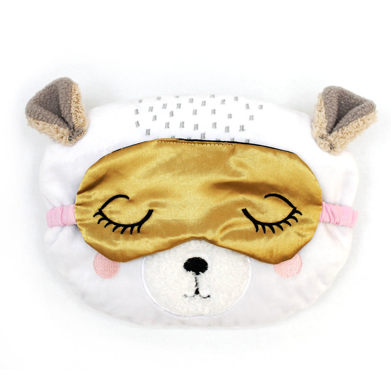 Over The Moon Bear Microwavable Hottie and Eye Mask - House of Disaster at Destination Fashion