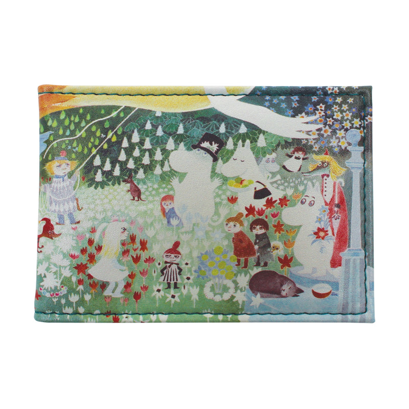 Moomin Dangerous Journey Travel Pass Card Holder - House of Disaster at Destination Fashion