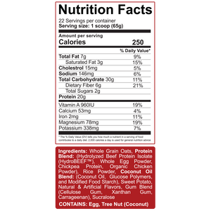 5% Nutrition Real Carbohydrates + Protein