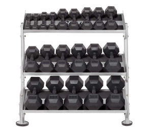 "HF-5461-OPT-36 36"" Dumbbell Rack With OPT (3rd-Tier)"