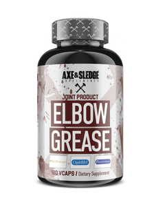 Axe & Sledge Elbow Grease for Joints! (120 Caps)