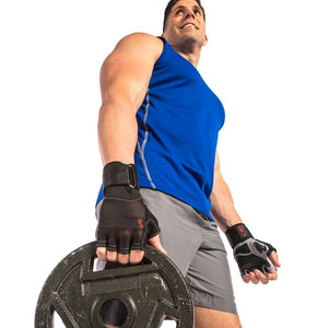 Xtreme Wrist Wrap Gloves with Articulated Grip