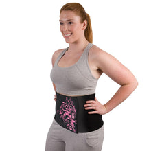 Load image into Gallery viewer, Pink Neoprene Waist Trimmer