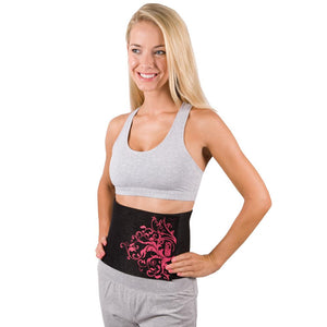 Pink Neoprene Waist Trimmer