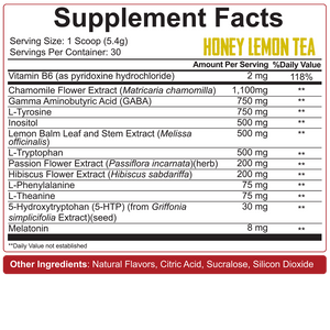 5% Nutrition Knocked the F Out - Sleep Aid/Recovery