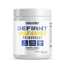 Load image into Gallery viewer, Muscle Force Defiant Unleashed Pre-Workout
