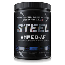 Load image into Gallery viewer, Steel Amped-AF Pre-Workout