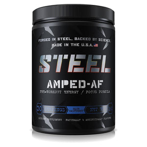 Steel Amped-AF Pre-Workout