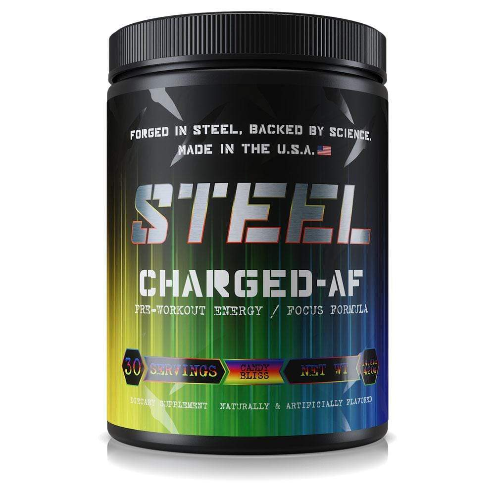 Steel Charged-AF Pre-Workout