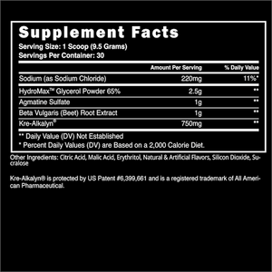 Steel Pumped-AF Pre-Workout Pump Formula