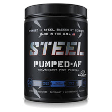 Load image into Gallery viewer, Steel Pumped-AF Pre-Workout Pump Formula