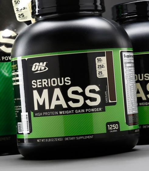 Optimum Nutrition Serious Mass High Protein Powder
