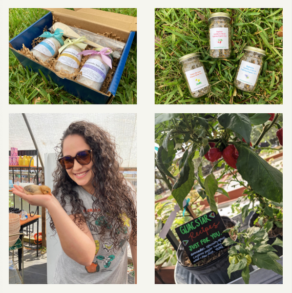 Farm Images, fruit trees, baby chicks, spices, gift boxes