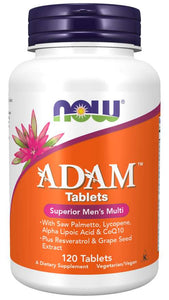ADAM™ Men's Multiple Vitamin 120 Tablets - 4 Month Supply