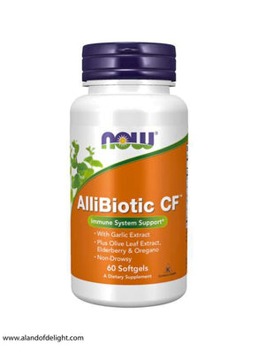AlliBiotic CF™ - 60 Softgel Vitamins
