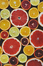 Load image into Gallery viewer, Australian Red Lime slices with other citrus fruits