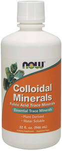 Bottle of Colloidal Minerals Liquid Essential Trace Minerals
