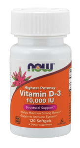 Vitamin D-3 10000 IU Softgels
