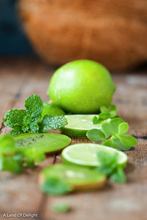 Load image into Gallery viewer, Persian Lime Slices with Fresh Herbs
