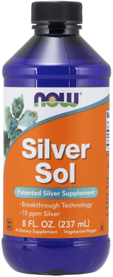 Colloidal Silver Sol - 8 fl.oz. Bottle