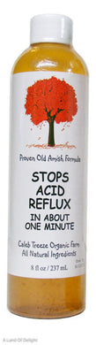 8 fl oz bottle of Stops Acid Reflux by Caleb Treeze