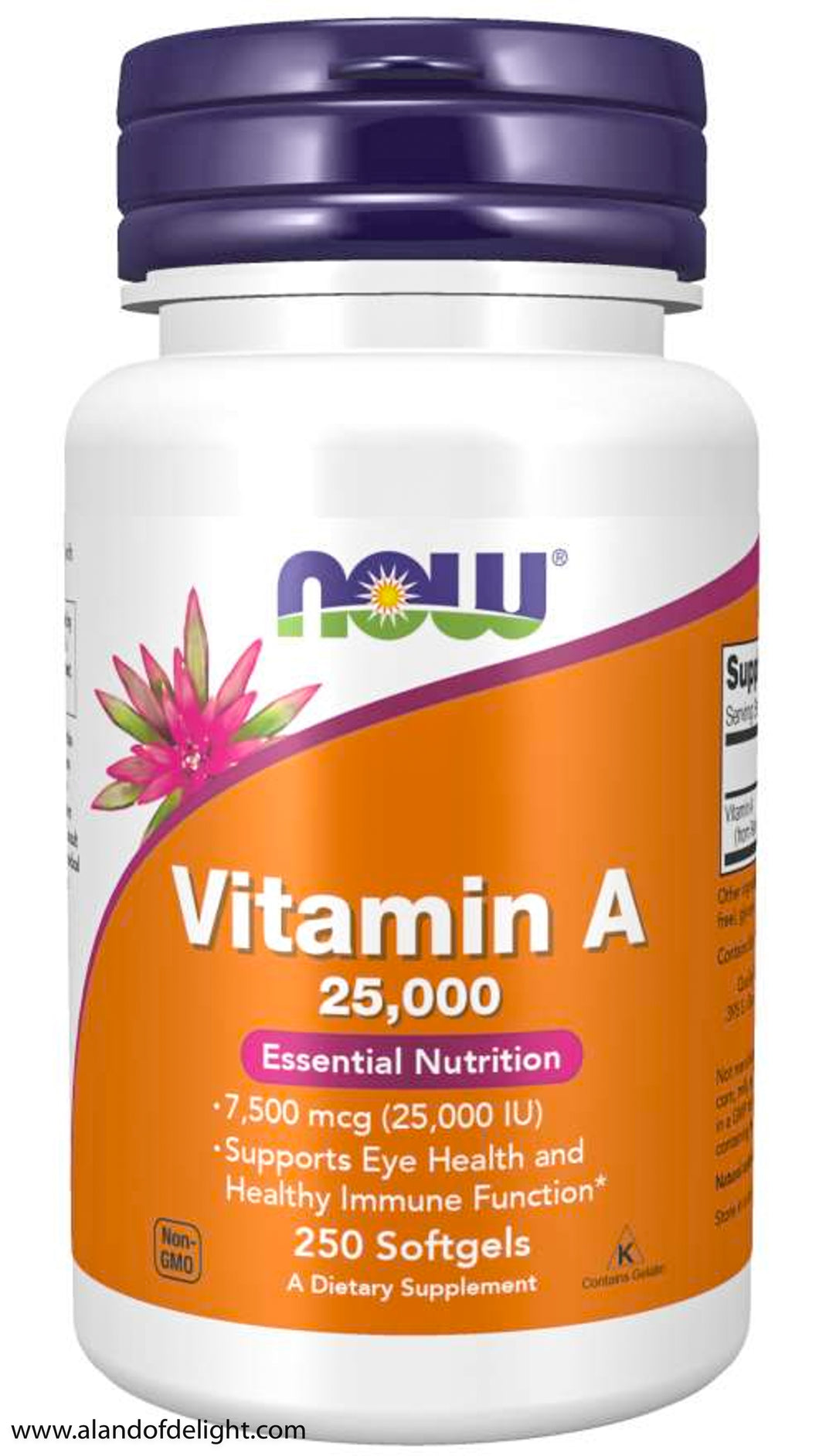 Vitamin A 25,000 - 250 Softgels