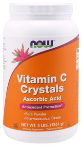 NOW VITAMINS - Vitamin C Crystals - 3 lb. Powder