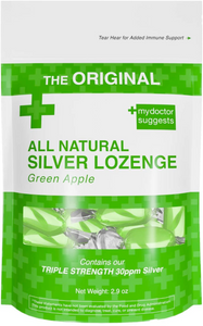 The Perfect Lozenge for Oral Health 30ppm Silver (Green Apple)