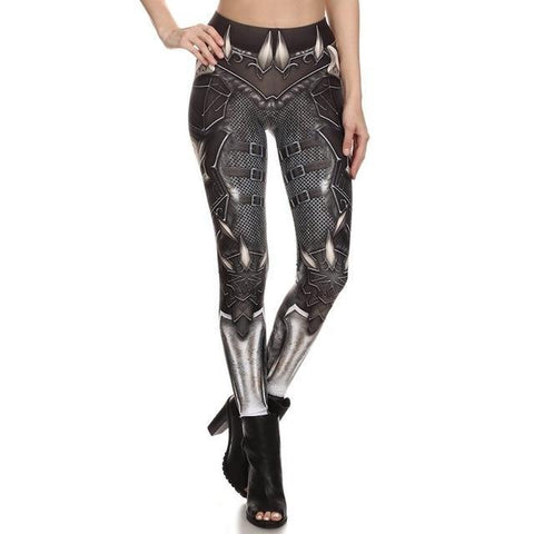 Leggings Gothique Imprimé 3D