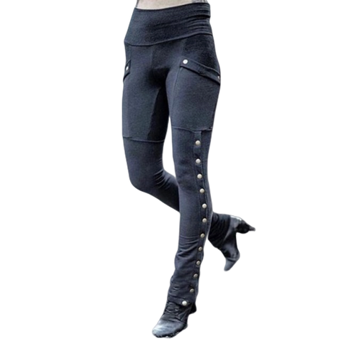 Leggings Gothique à Rivet