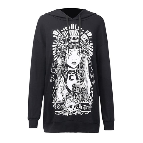 Sweat Gothique <br /> In Goth We Trust - L'Ancre Gothique