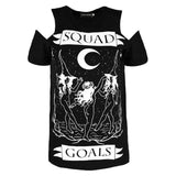 T-Shirt Gothique Squad Goals