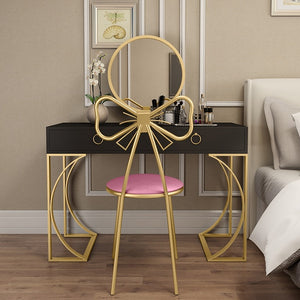Nordic Small Family Iron Dresser Wind Simple Bedroom Dressing Table Mi Santos Home Furnishings,How To Design Stickers In Photoshop