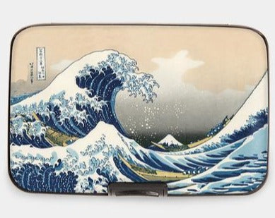 Armored Wallet - The Great Wave