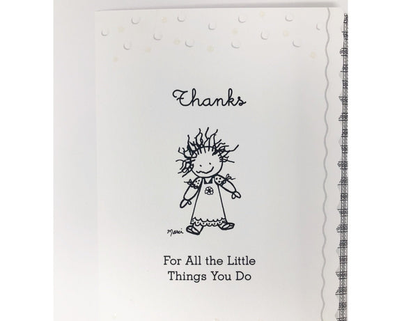 Card - Thanks For All the Little Things