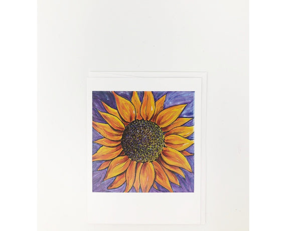 Card - Sunflower  (Blank Card)