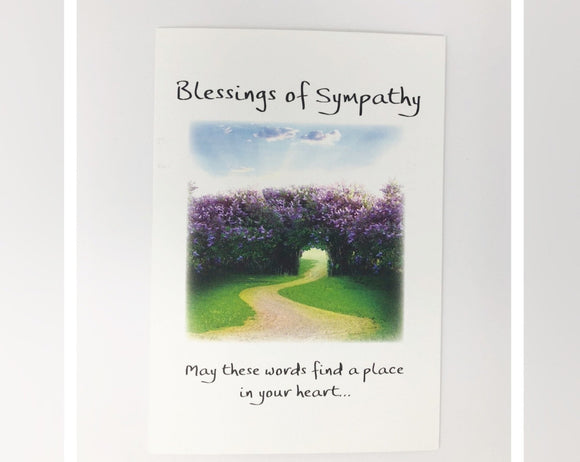 Card - Blessings of Sympathy