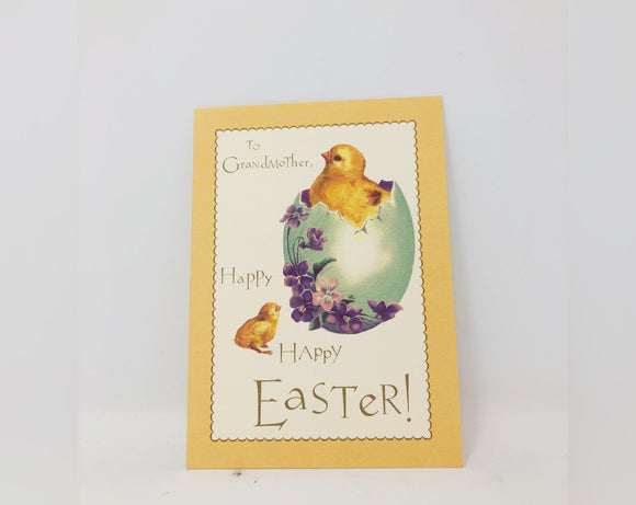 To Grandmother Easter Card