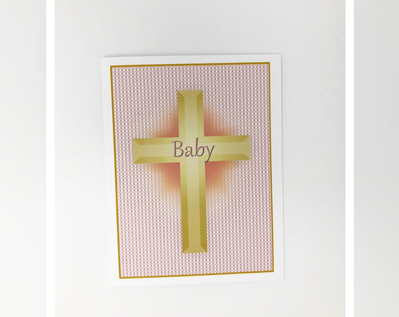 Card - Baptism (Girl)