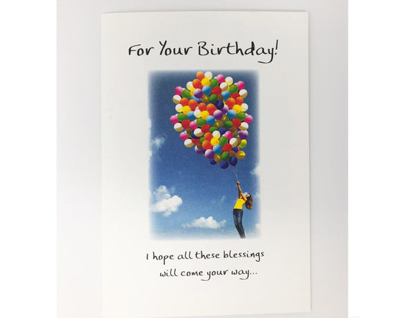Card - For Your Birthday!