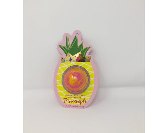 Bath Bomb - Stand Tall, Wear A Crown, And Be Sweet Like A Pineapple