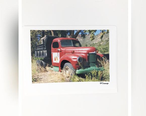 Cards - Red Truck