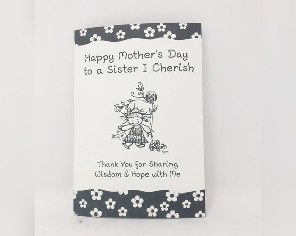 Happy Mother's Day to a Sister I Cherish Mother's Day Card
